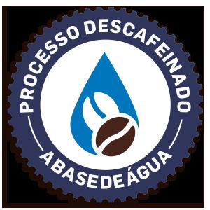 Processo descafeinado a base de água